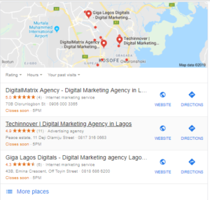 Boost Local SEO 2019 digitalmatrix lagos